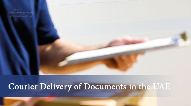 Main picture: Courier Delivery of Documents in the UAE