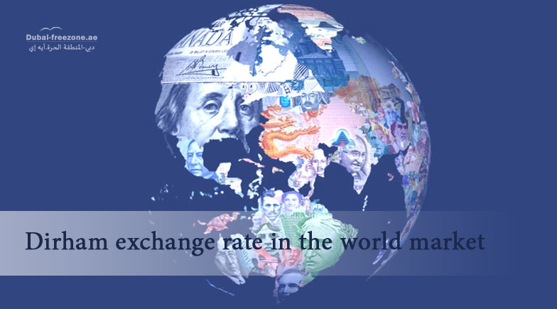 Main picture: Dirham exchange rate in the world market