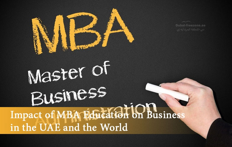 Main picture: Impact of MBA Education on Business in the UAE and the World