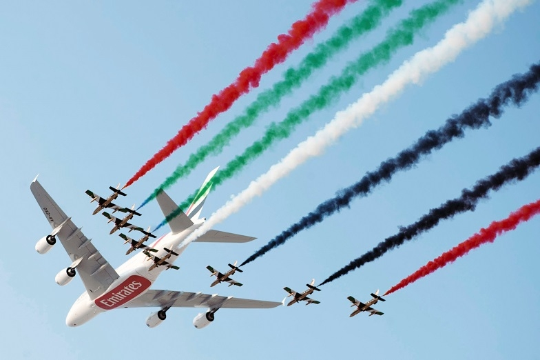 Main picture: The Dubai Airshow