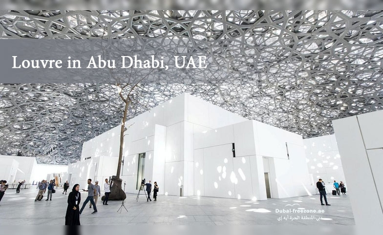 Main picture: Louvre in Abu Dhabi, UAE