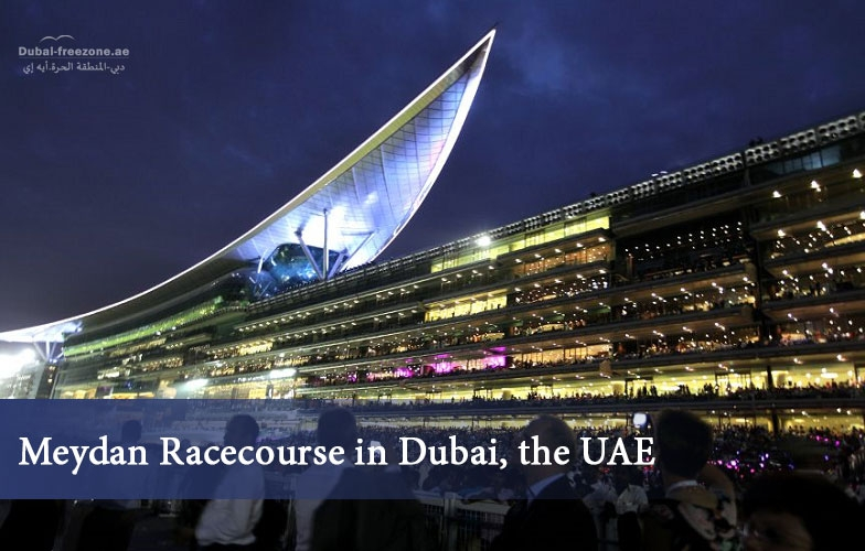 Main picture: Meydan Racecourse in Dubai, the UAE