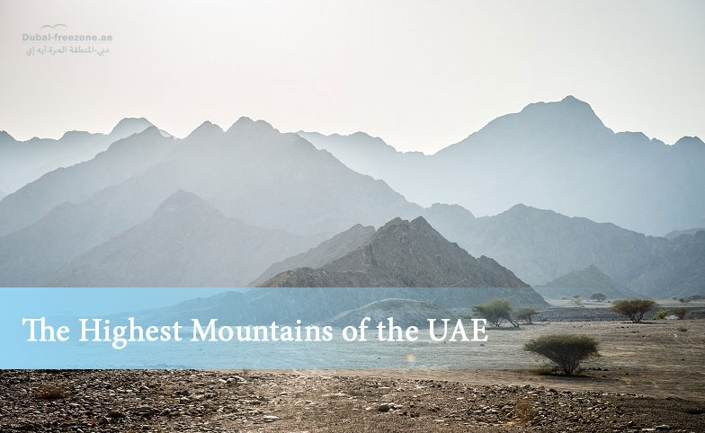Main picture: The Highest Mountains of the UAE